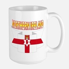 Ulster banner ribbon flag Mug