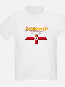 Ulster banner ribbon flag Kids T-Shirt