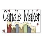 Candle Maker Rectangle Sticker