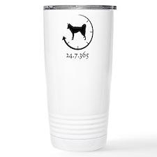 Alaskan Klee Kai Travel Coffee Mug