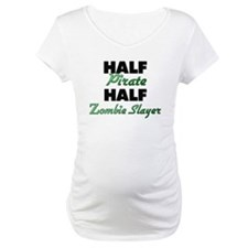 Half Pirate Half Zombie Slayer Shirt