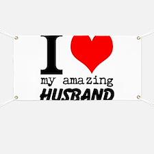 I heart my Amazing Husband Banner