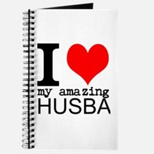 I heart my Amazing Husband Journal