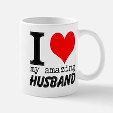 I heart my Amazing Husband Small Small Mug