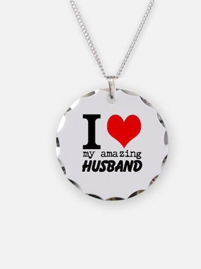 I heart my Amazing Husband Necklace
