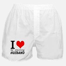 I heart my Amazing Husband Boxer Shorts
