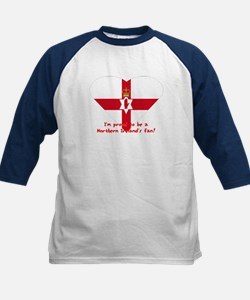 Red hand of Ulster pride flag Kids Baseball Jersey