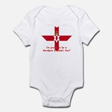Red hand of Ulster pride flag Infant Bodysuit