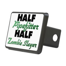Half Pipefitter Half Zombie Slayer Hitch Cover