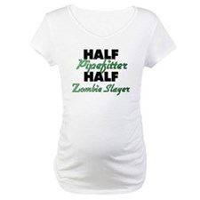 Half Pipefitter Half Zombie Slayer Shirt