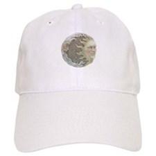 Cosmic Sun and Moon Baseball Cap