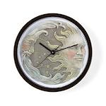Cosmic Sun and Moon Wall Clock