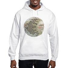Cosmic Sun and Moon Hoodie