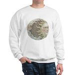 Cosmic Sun and Moon Sweatshirt