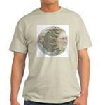 Cosmic Sun and Moon Ash Grey T-Shirt
