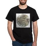 Cosmic Sun and Moon Dark T-Shirt