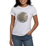 Cosmic Sun and Moon Women's T-Shirt