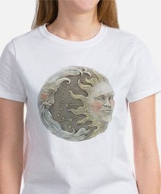 Cosmic Sun and Moon Women's T-Shirt