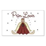 Prim Lover Rectangle Sticker