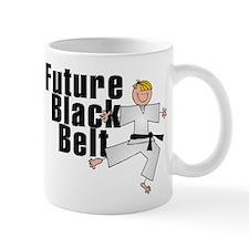 Blonde Future Black Belt Mug