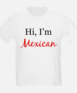 I am Mexican Kids T-Shirt