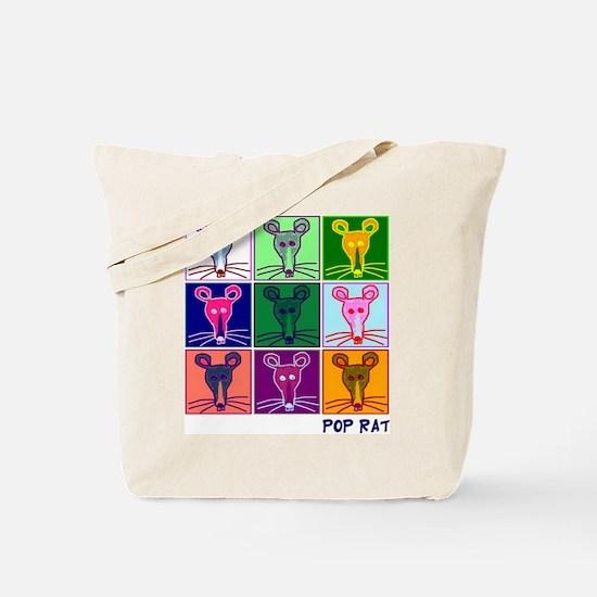 Pop Rat Tote Bag