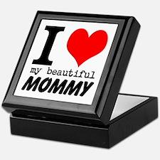 I Heart My Beautiful Mommy Keepsake Box