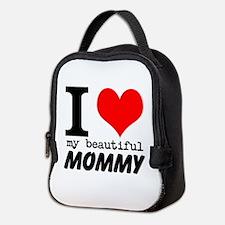 I Heart My Beautiful Mommy Neoprene Lunch Bag