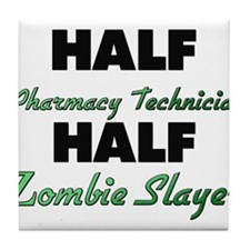 Half Pharmacy Technician Half Zombie Slayer Tile C