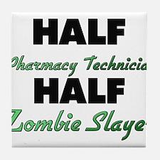 Half Pharmacy Technician Half Zombie Slayer Tile C