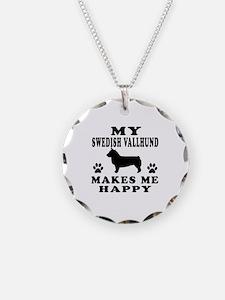 My Swedish Vallhund makes me happy Necklace