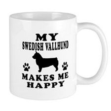 My Swedish Vallhund makes me happy Mug