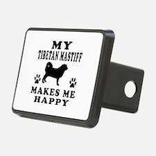 My Tibetan Mastiff makes me happy Hitch Cover