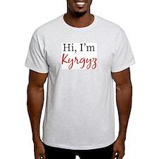 Hi, I am Kyrgyz Ash Grey T-Shirt