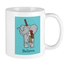 Bob is a Unicorn Mug (teal)