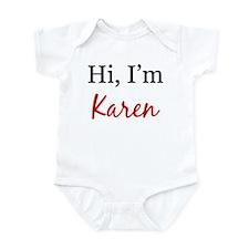 Hi, I am Karen Onesie