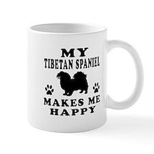 My Tibetan Spaniel makes me happy Mug