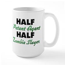 Half Patent Agent Half Zombie Slayer Mugs