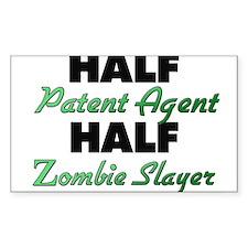 Half Patent Agent Half Zombie Slayer Decal