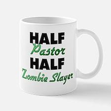 Half Pastor Half Zombie Slayer Mugs