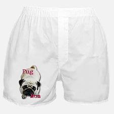 Pug Mom Boxer Shorts