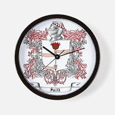 Smith Family Crest 2 Wall Clock