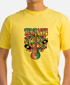 Peace Love & Music T-Shirt