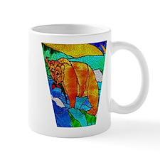 BEAR CATCHING FISH Mug