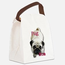 Pug Mom Canvas Lunch Bag