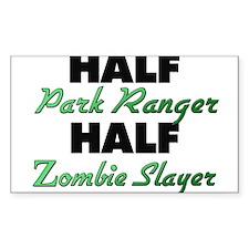 Half Park Ranger Half Zombie Slayer Decal
