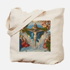Adoration of the Trinity by Albrecht Dure Tote Bag