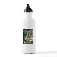 Robert H Treman Waterfall Water Bottle