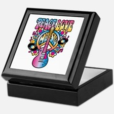 Peace Love & Music Keepsake Box