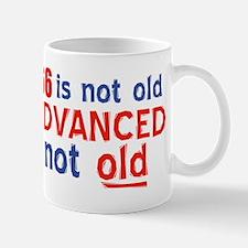 66 years is not old Mug